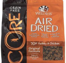 Wellness CORE Air Dried Natural Grain Free Dry Dog Food, Original Turkey & Chicken Recipe, 2-Pound Bag
