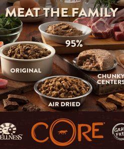 Wellness CORE Natural Grain Free Dry Dog Food, Small Breed Health Turkey & Chicken Recipe, 4-Pound Bag 6