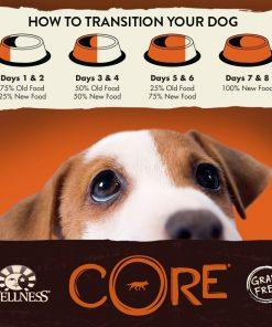 Wellness CORE Natural Grain Free Dry Dog Food, Small Breed Health Turkey & Chicken Recipe, 4-Pound Bag 8