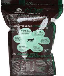 Wellness CORE Natural Grain Free Dry Dog Food, Wild Game Duck, Turkey, Wild Boar & Rabbit Recipe, 4-Pound Bag 2