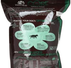 Wellness CORE Natural Grain Free Dry Dog Food, Wild Game Duck, Turkey, Wild Boar & Rabbit Recipe, 4-Pound Bag 2