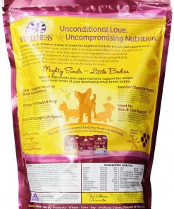 Wellness Complete Health Natural Dry Dog Food, Small Breed Puppy Health Turkey, Oatmeal & Salmon Recipe, 4-Pound Bag 2