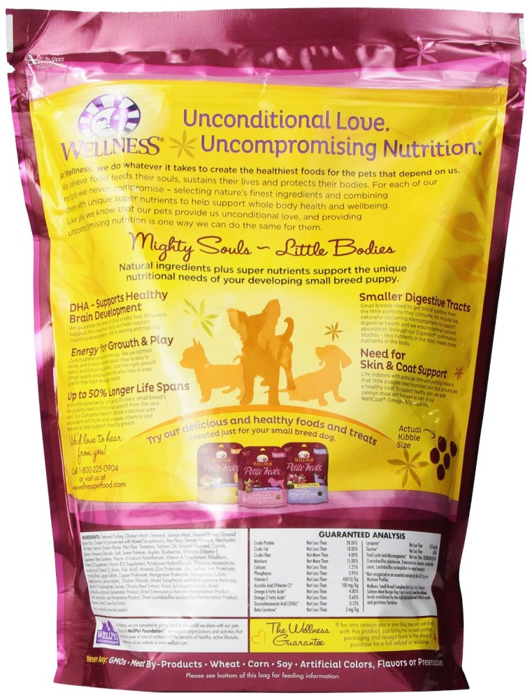 Wellness Complete Health Natural Dry Dog Food Small Breed Puppy