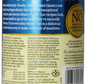 Wellness Natural Grain Free Wet Canned Dog Food, Venison & Salmon Stew with Potatoes & Carrots, 12.5-Ounce Can (Value Pack of 12) 2
