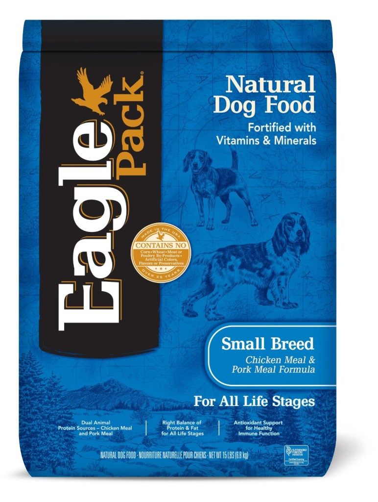 Eagle Pack Natural Dry Dog Food, Small Breed Adult Chicken ...