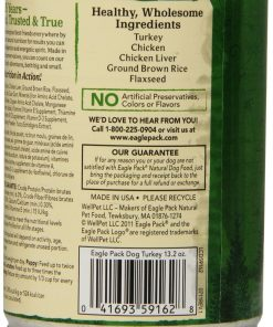Eagle Pack Natural Wet Canned Dog Food, Turkey Formula, 13.2-Ounce Can (Value Pack of 12) 2