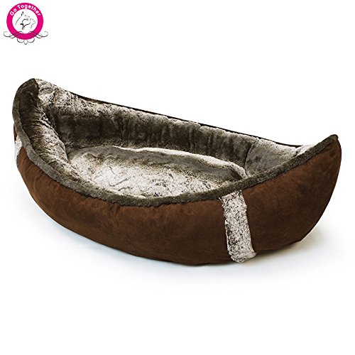 Bosuntm Unique Boat Pet Dog Beds Detachable Pp Cotton Padded