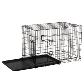 Ollieroo® Dogs Crate Folding Dog Kennel Wire Pet Cage Crate, Multiple Size 2