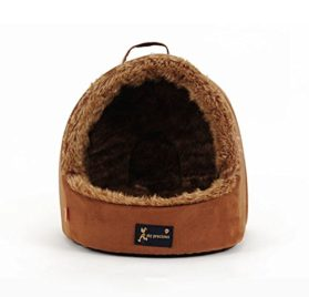 WeMore(TM) Unique Portable Small Pet Dog House Outdoor Soft Fleece Puppy Kennel Winter Warm Chihuahua Nest Beds Cama 2