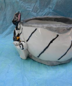 WhimsiClay Hand made Chihuahua Bowl 2