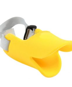 Cute Pet Ultra-Soft Silicone Foam Pet Dog Duckbill Mask Muzzle Anti-Biting and Barking Avoid the Pet from Eating Junk Food Outside to Keep Safety 3 Colors Size S M L