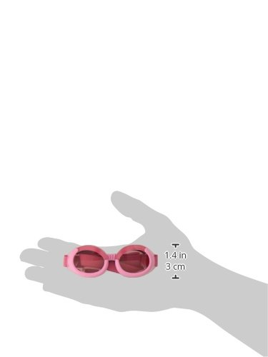 Doggles ILS X-Small Pink Frame and Pink Lens 2