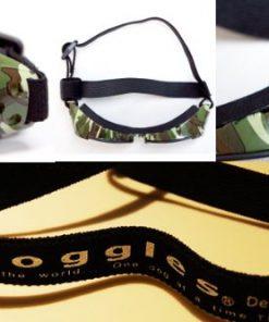 Doggles ILS X-Small Green Camo Frame and Smoke Lens 4