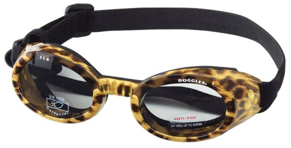 Doggles ILS X-Small Leopard and Smoke Lens