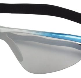 Doggles K9 Optix Blue Rubber Gradient Frame with Smoke Lens Sunglasses, X-Small