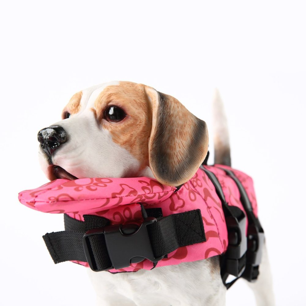 PetCee Dog Life Jacket Quick Release Easy-Fit Adjustable ...