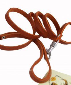 4 Genuine Leather Classic Dog Leash 3-8 Wide 3