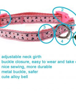 Cool Gentle Cat Kitten Dog Puppy Leading Leash and Collar Set Anchor Images for Cats Dogs Pets, 2 Pack 4