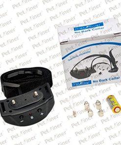 USA Anti Bark No Barking Tone Shock Training Collar S M L 5-150 lb Dog Pet 2