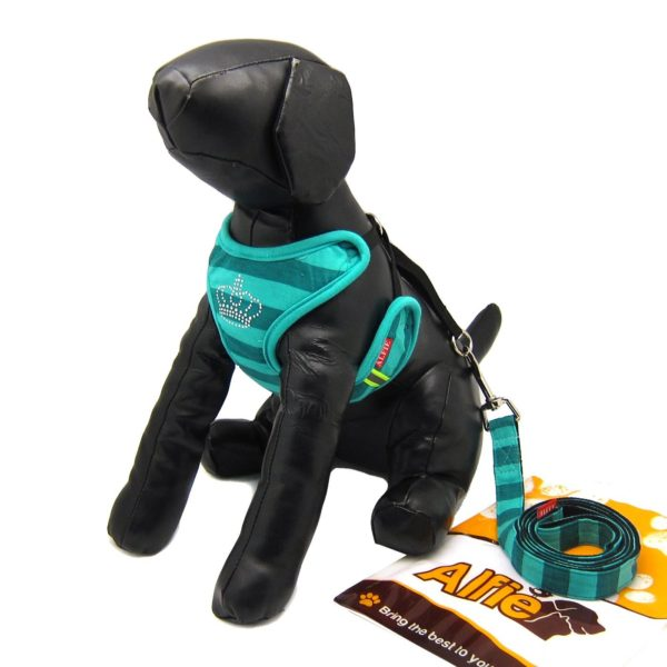 Alfie Pet by Petoga Couture - Alixis Step-in Harness and Leash Set