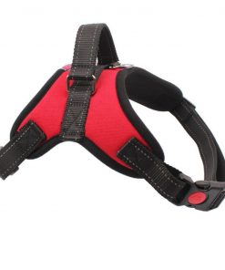 Gililai Adjustable No Pull Dog Collar Harness - Best for Walking, Hiking & Training Canie - 3 Colors and 4 Sizes 2