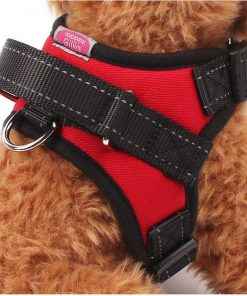 Gililai Adjustable No Pull Dog Collar Harness - Best for Walking, Hiking & Training Canie - 3 Colors and 4 Sizes