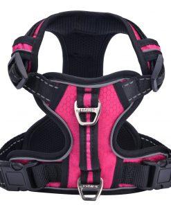PUPTECK Best Front Range No-Pull Dog Harness with Vertical Handle,Calming Adjustable Reflective Outdoor Adventure Pet Vest 2