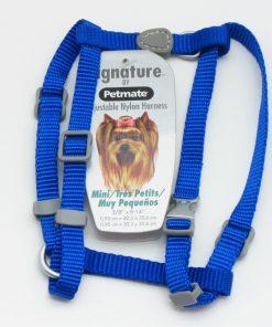 Petmate Adjustable Mini Dog Harness, Royal Blue 2
