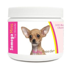 Healthy Breeds 100 Count Chihuahua Somega Minis Soft Chews