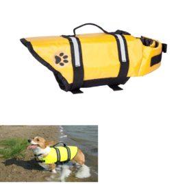 Designer Dog Life Jacket Pet Saver Vest Coat Floation Float Ait Buoyancy