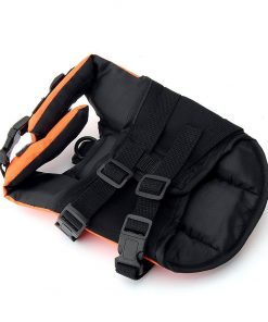 Funkeen Dog Life Jacket Aquatic Pet Safety Preserver Vest with Reflective tape for Small Medium Dogs 2