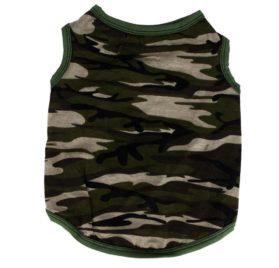 2017 Hot Pet Vest! AMA(TM) Pet Puppy Small Dog Clothes Chihuahua Cotton Army Camouflage Vest T-Shirt Doggy Summer Apparel Costume