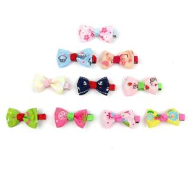 Alfie Pet by Petoga Couture - Aimi Bow Hair Clip 10-Piece Set for Dogs, Cats and Small Animals 2