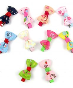 Alfie Pet by Petoga Couture - Aimi Bow Hair Clip 10-Piece Set for Dogs, Cats and Small Animals 3