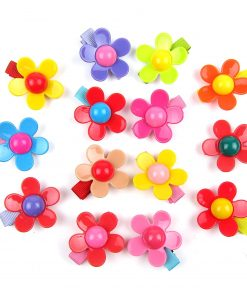 Alfie Pet by Petoga Couture - Dassa Flower Hair Clip 14-Piece Set for Dogs, Cats and Small Animals