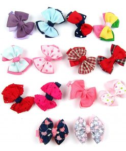 Alfie Pet by Petoga Couture - Elssa Bow Hair Clip 14-Piece Set for Dogs, Cats and Small Animals 2