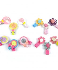 Alfie Pet by Petoga Couture - Falisha Lollipop Hair Clip 12-Piece Set for Dogs, Cats and Small Animals 2