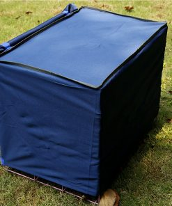 Alfie Pet by Petoga Couture - Finch Pet Polyester Crate Cover 2