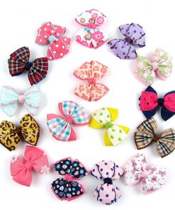 Alfie Pet by Petoga Couture - Jane Bow Hair Clip 16-Piece Set for Dogs, Cats and Small Animals