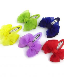 Alfie Pet by Petoga Couture - Lindsey Bow Hair Clip 5-Piece Set for Dogs, Cats and Small Animals 2
