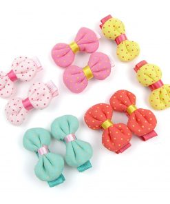 Alfie Pet by Petoga Couture - Marcia Bow Hair Clip 10-Piece Set for Dogs, Cats and Small Animals 2