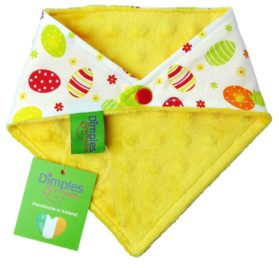 Dimples Dog Bandana - Easter Eggs (handmade for all sizes and breeds) 2