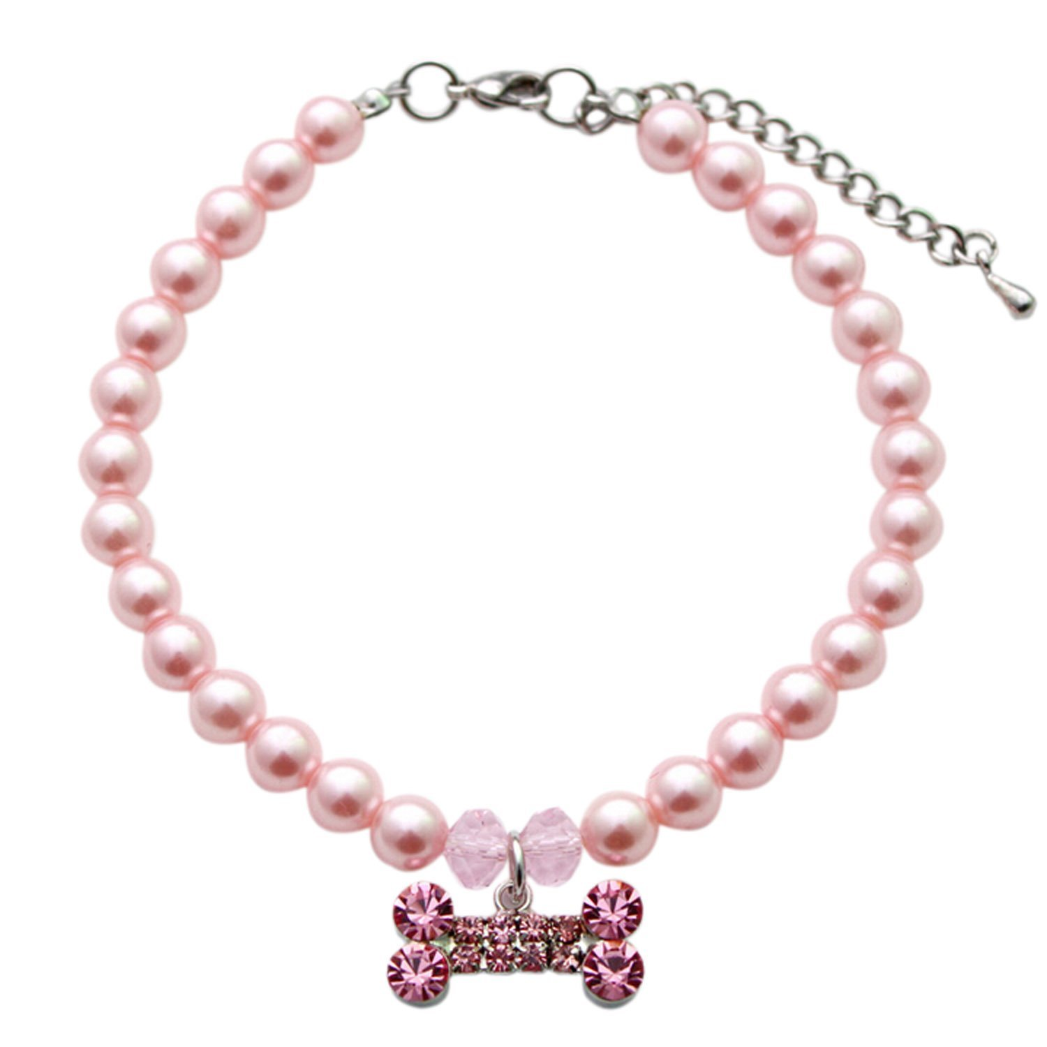 Easting Couture Designer Fancy Diamond Pet Cat Dog Necklace Jewelry
