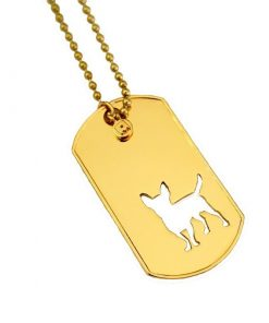 Mochi & Jolie Chihuahua Tag Necklace