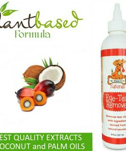 's Naturals Tear Stain Remover & Preventer, Safe, Plant Based Extract from Palm & Coconut Oils 2