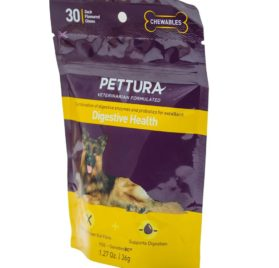 Pettura - Digestive Health, A Combination of Digestive Enzymes, Prebiotics & Probiotics, 30 Chews 2