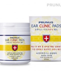 Prunus [Ear Clinic] All Natural Ear Cleansing [Anti-Bacterial] Grooming Wipes for Dogs