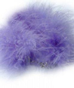 SACAS Purple Boa Dog Pet Necklace -- 3 Sizes Available
