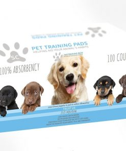 Select Companion Puppy Pee Pads, 23 x 22 Inch, 100 Disposable Piddle Pottypads 2