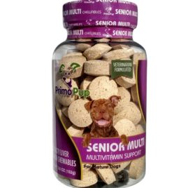 Senior Dog Multivitamin by Primo Pup Vet Health Supports Physical and Mental Wellbeing